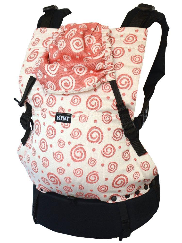KiBi Red spirals